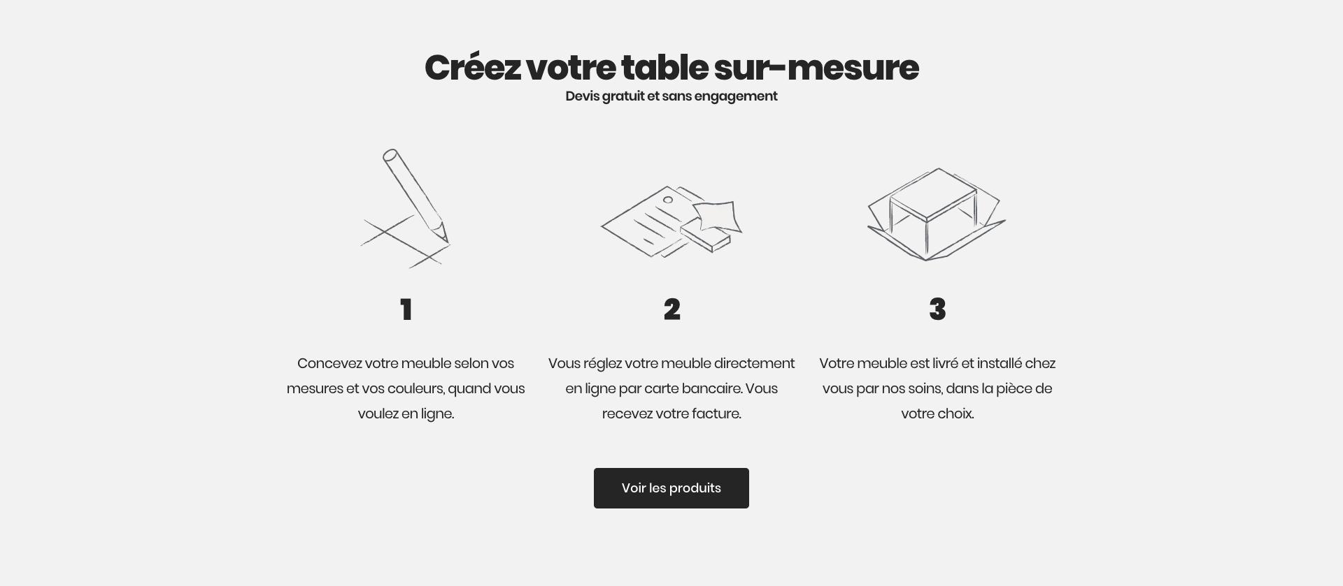 Comment créer sa table sur Ipnoze