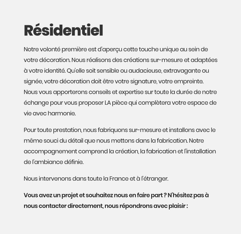 Prestation résidentiel - Ipnoze