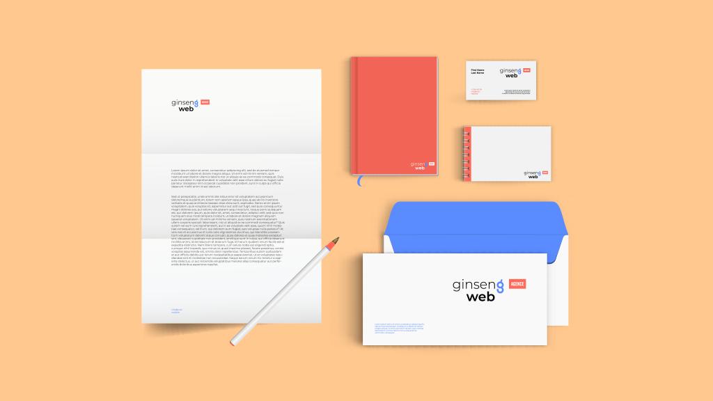 Logo & Branding - Ginseng Web
