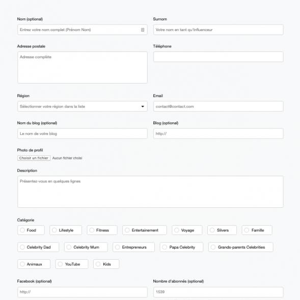 IFA-Formulaire - Développement UX UI Design par Ginseng Web