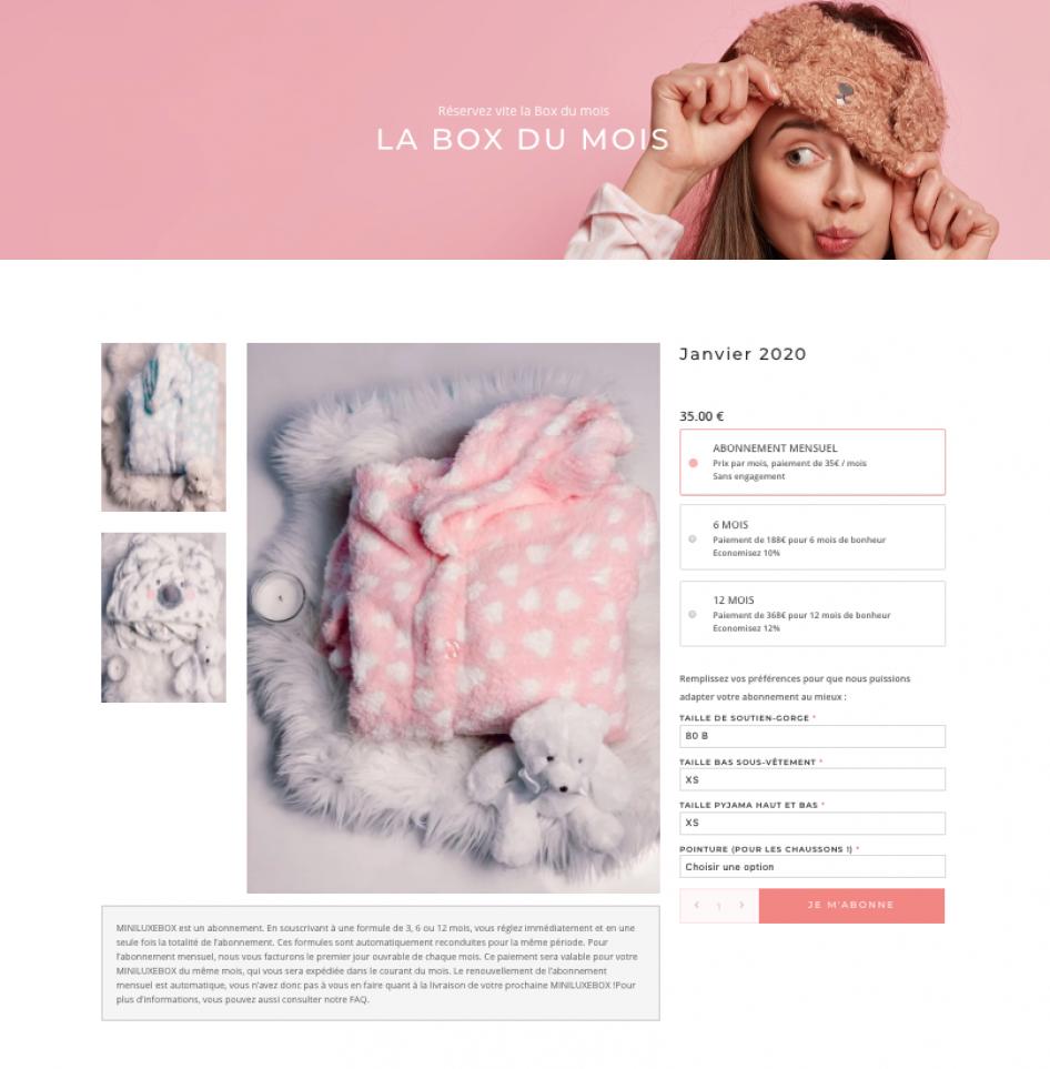 Miniluxe UI Design - Ginseng Web